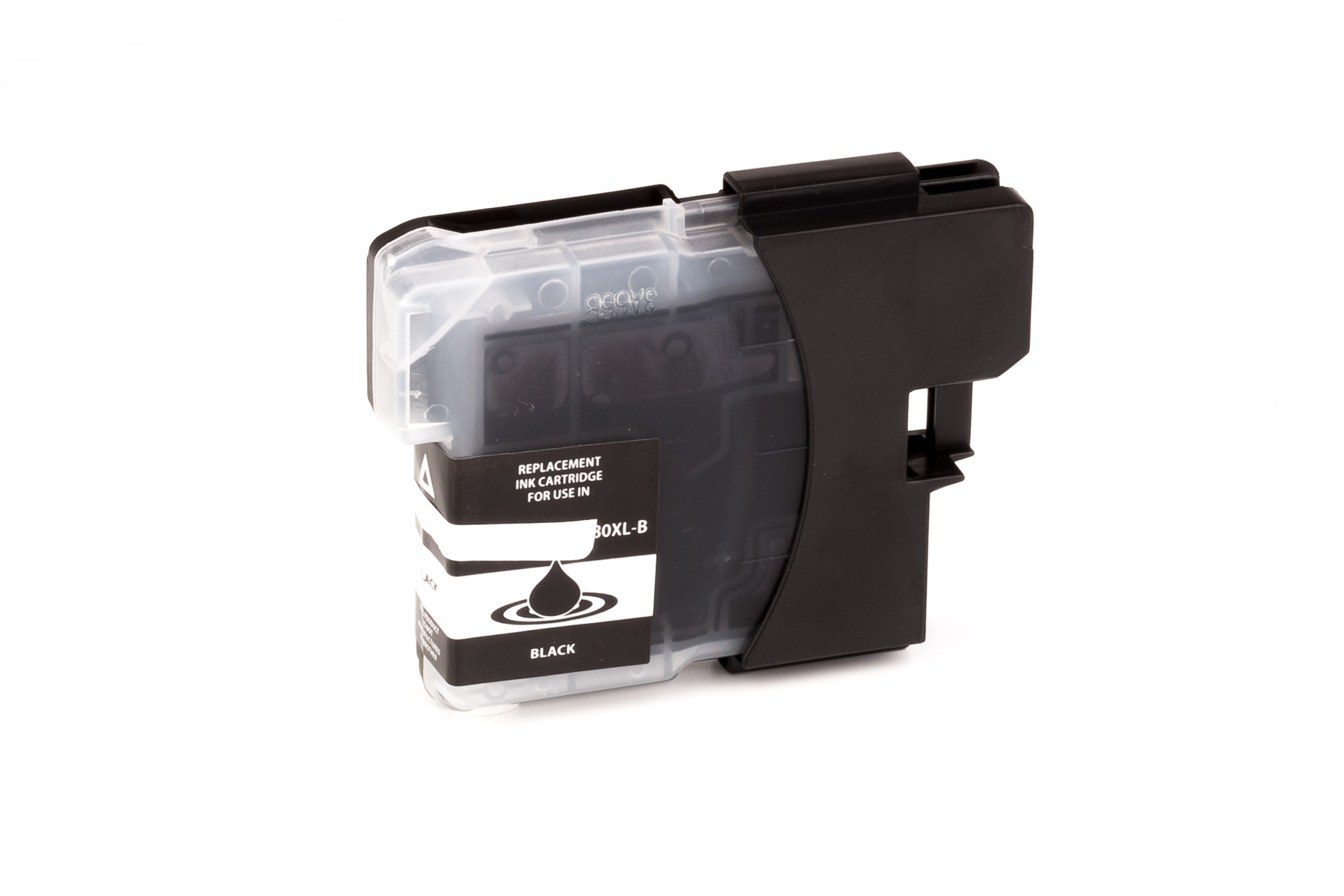 Tinta (alternativo) compatible a Brother  LC980  LC1100  negro