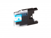 Tinta (alternativo) compatible a Brother DCP-J 525 W / 725 W / 925 W / MFC-J 6510 DW / 6710 DW / 6910 DW // LC-1240 C / LC1240 cyan