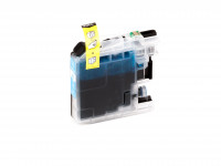 Tinta (alternativo) compatible a Brother - LC125XLC/LC-125 XL C - DCP-J 4110 DW cyan