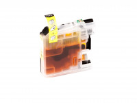 Tinta (alternativo) compatible a Brother - LC125XLM/LC-125 XL M - DCP-J 4110 DW magenta