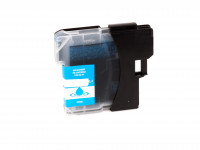 Tinta (alternativo) compatible a Brother  LC980  LC1100  cyan