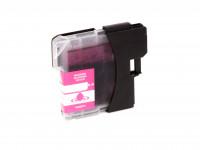 Tinta (alternativo) compatible a Brother  LC980  LC1100  magenta