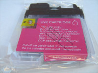 Tinta (alternativo) compatible a Brother LC1100 magenta