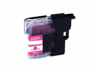 Tinta (alternativo) compatible a Brother DCP-J 125/315 W/515 W/MFC-J 220/265 W/410/415 W/615 W LC985M magenta