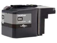 Original Cartucho de tinta negro Brother LC12EBK negro