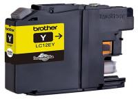 Original Cartucho de tinta amarillo Brother LC12EY amarillo