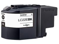 Original Cartucho de tinta negro Brother LC22EBK negro