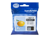 Original Cartucho de tinta negro Brother LC3211BK negro