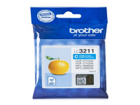 Original Cartucho de tinta cian Brother LC3211C cyan