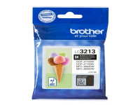 Original Cartucho de tinta negro Brother LC3213BK negro